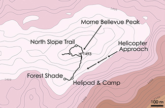 Bellevue Topographic Map 3