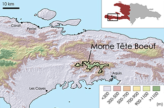 Tête Boeuf Topographic Map 1